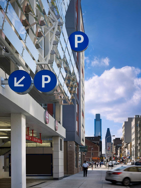 Cladding Corp - 8th & Filbert Parking - Philadelphia, PA