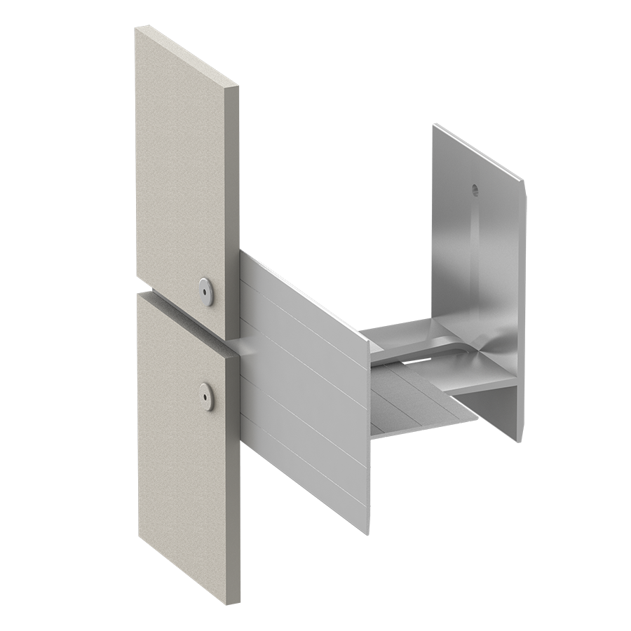 Alpha Hci.11 Rainscreen Aluminum Sub-framing System