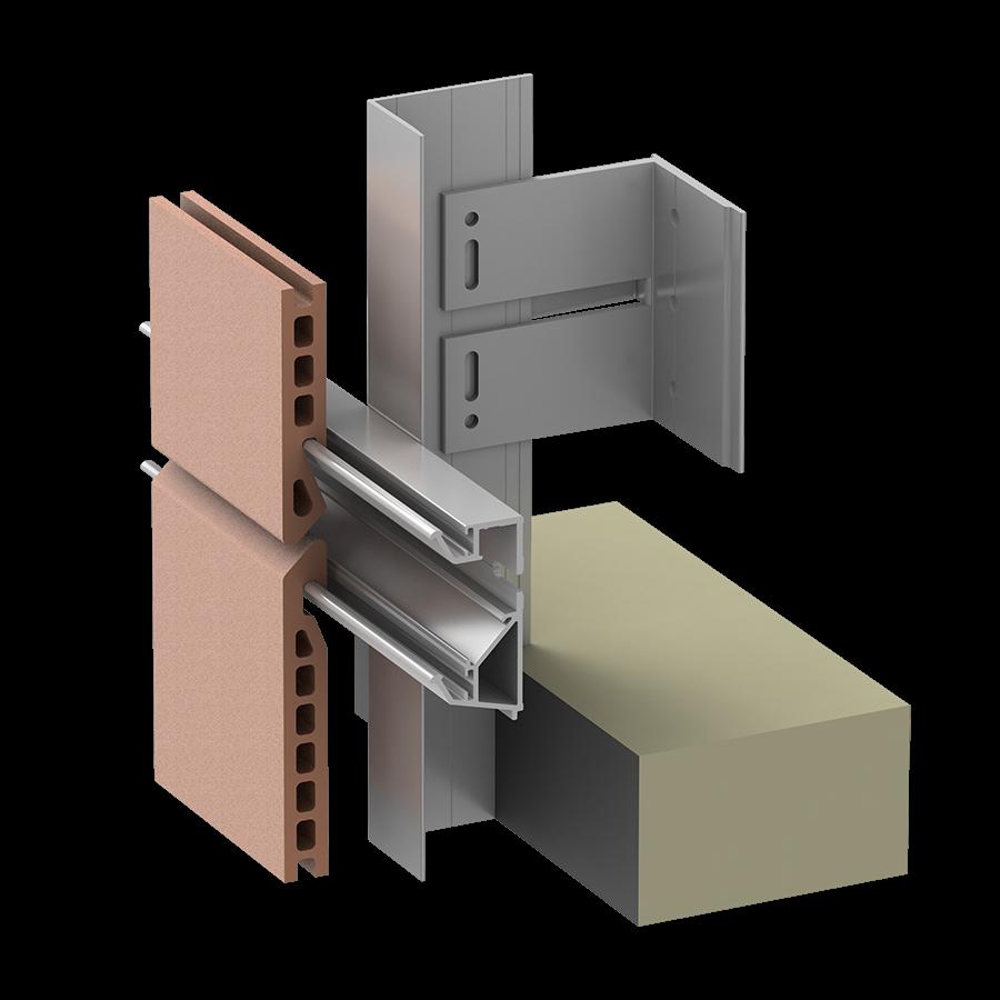 Alpha Vci.55 Rainscreen Aluminum Sub-framing System