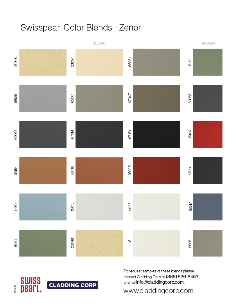 Cladding Corp Color Blend ZENOR