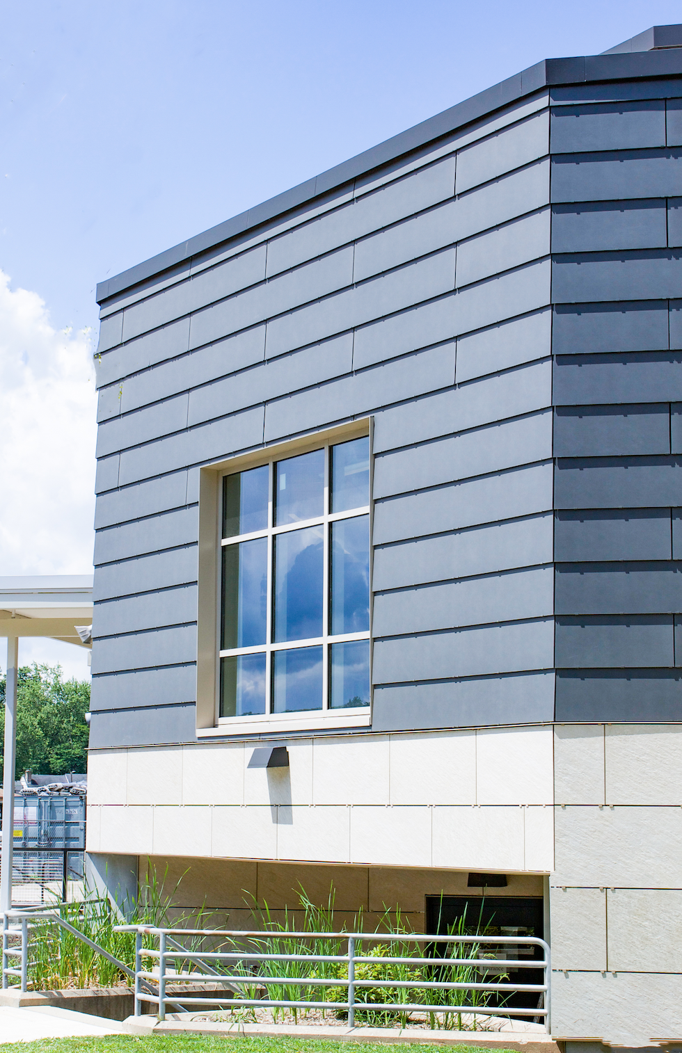 Cladding Corp Quakertown High School Swisspearl Ceramic5 Rainscreen