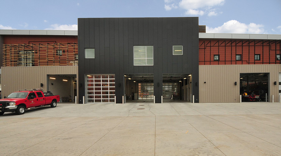 Cladding Corp - Davenport Central Fire Station - Terra5