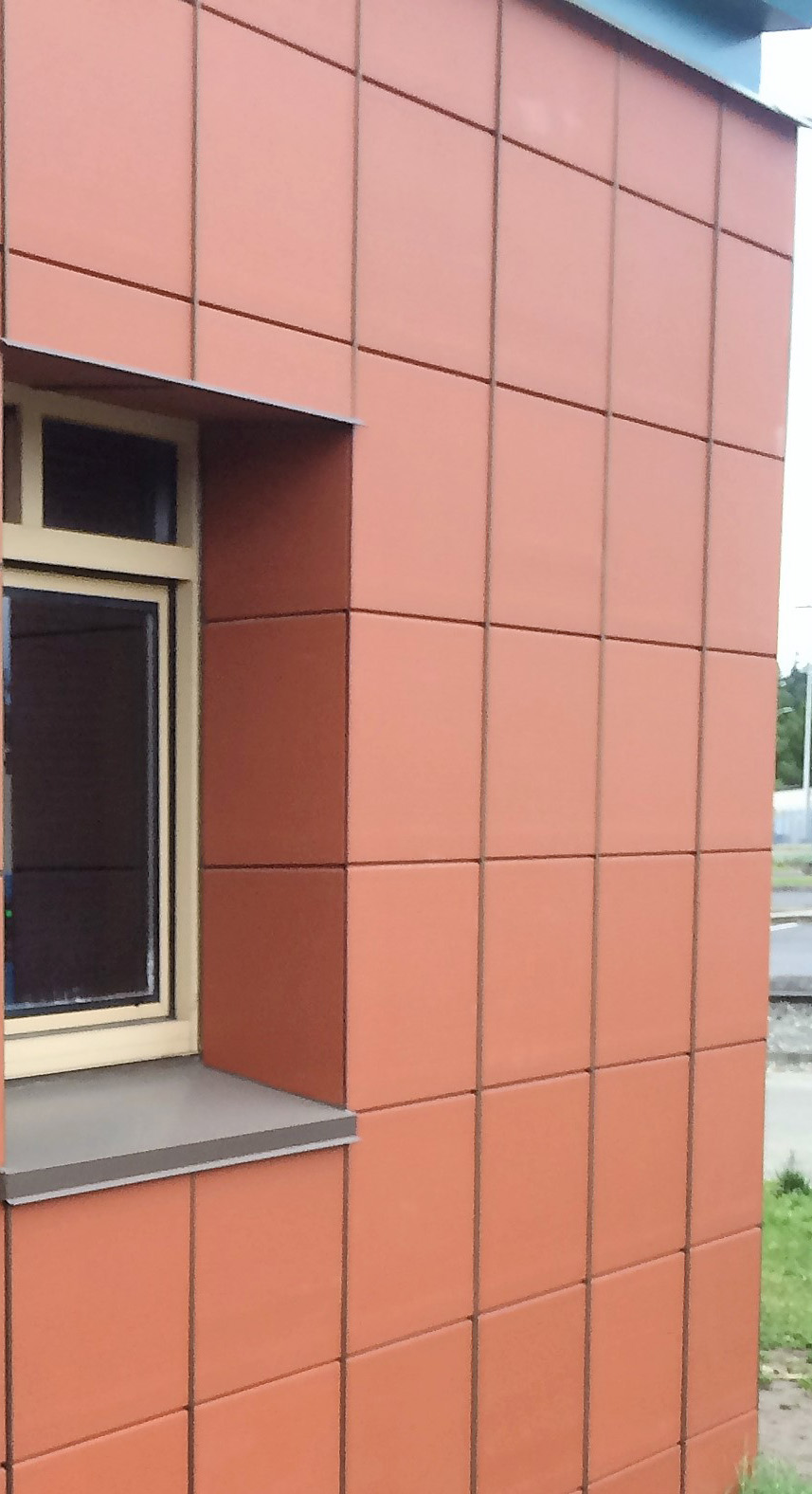 Cladding Corp Terracotta Rainscreen & ECO Cladding Vci.45 Subframing Cladding System