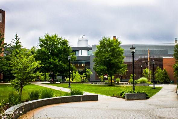 Bridgewater State Science Math – Bridgewater, MA with Cladding Corp