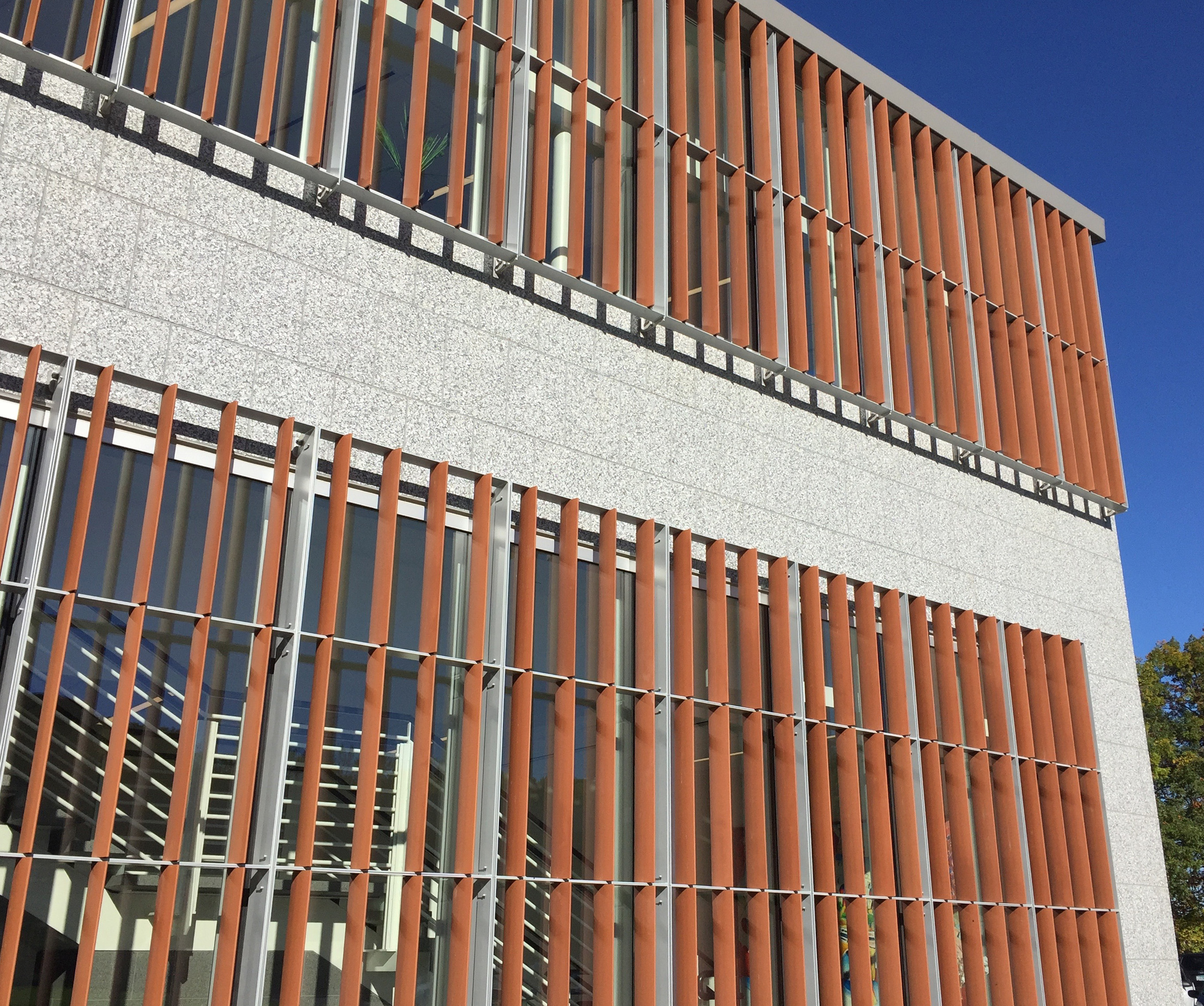 Cladding Corp Terracotta Sunscreen Elevation