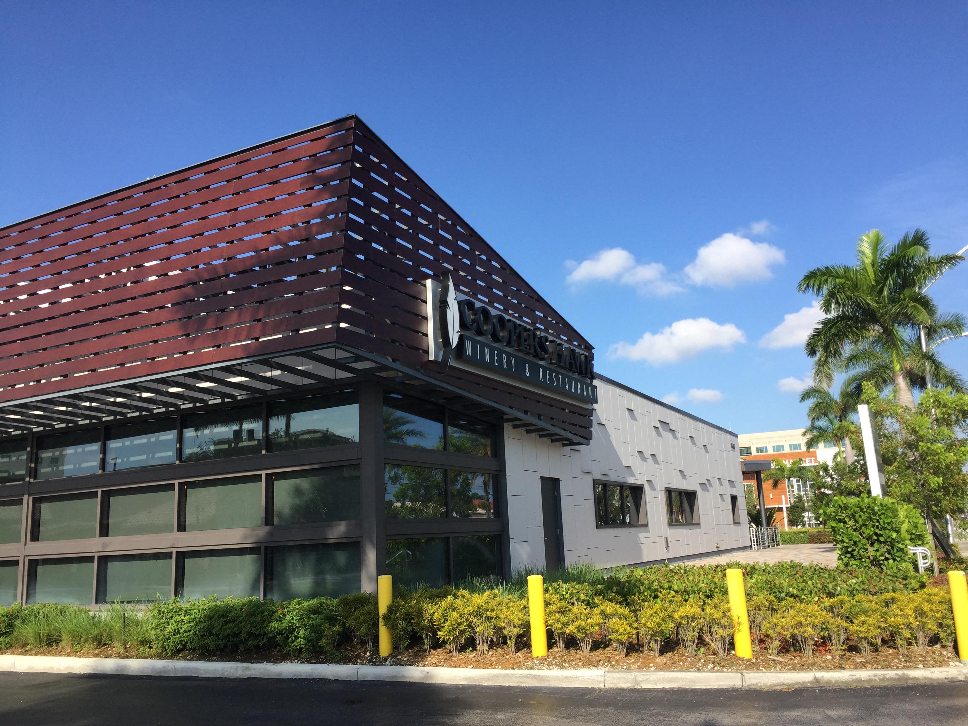 Cladding Corp Cooper's Hawk Restaurant Swisspearl Doral FL