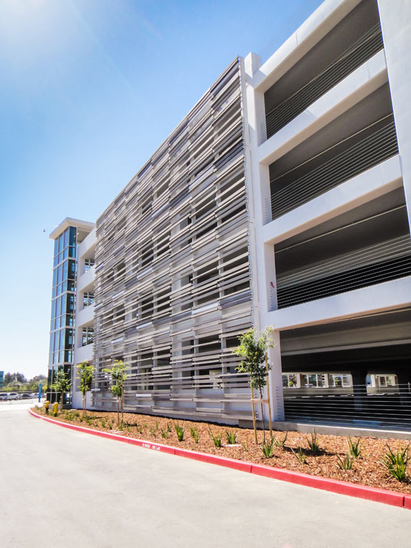 Juniper Networks Parking Garage Sunnyvale Ca Cladding