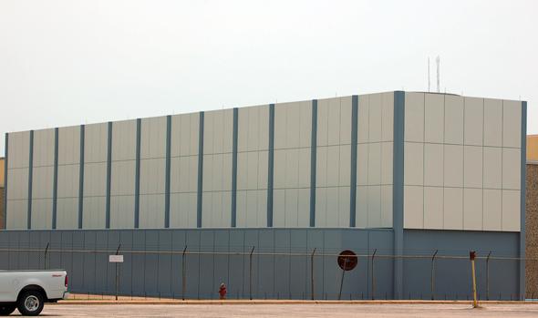 Corporate Utility Building Reclad – Dallas, TX