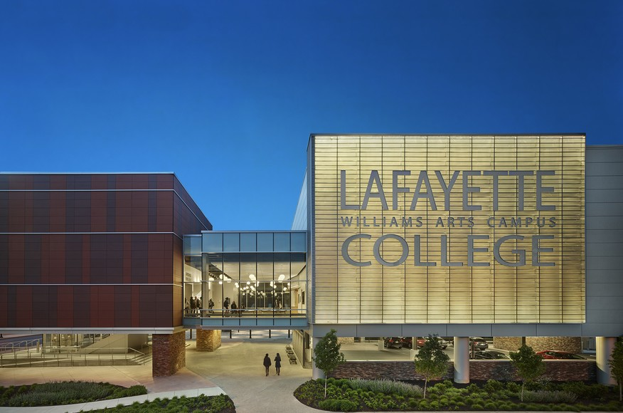 Cladding Corp Lafayette College Theater Terra5