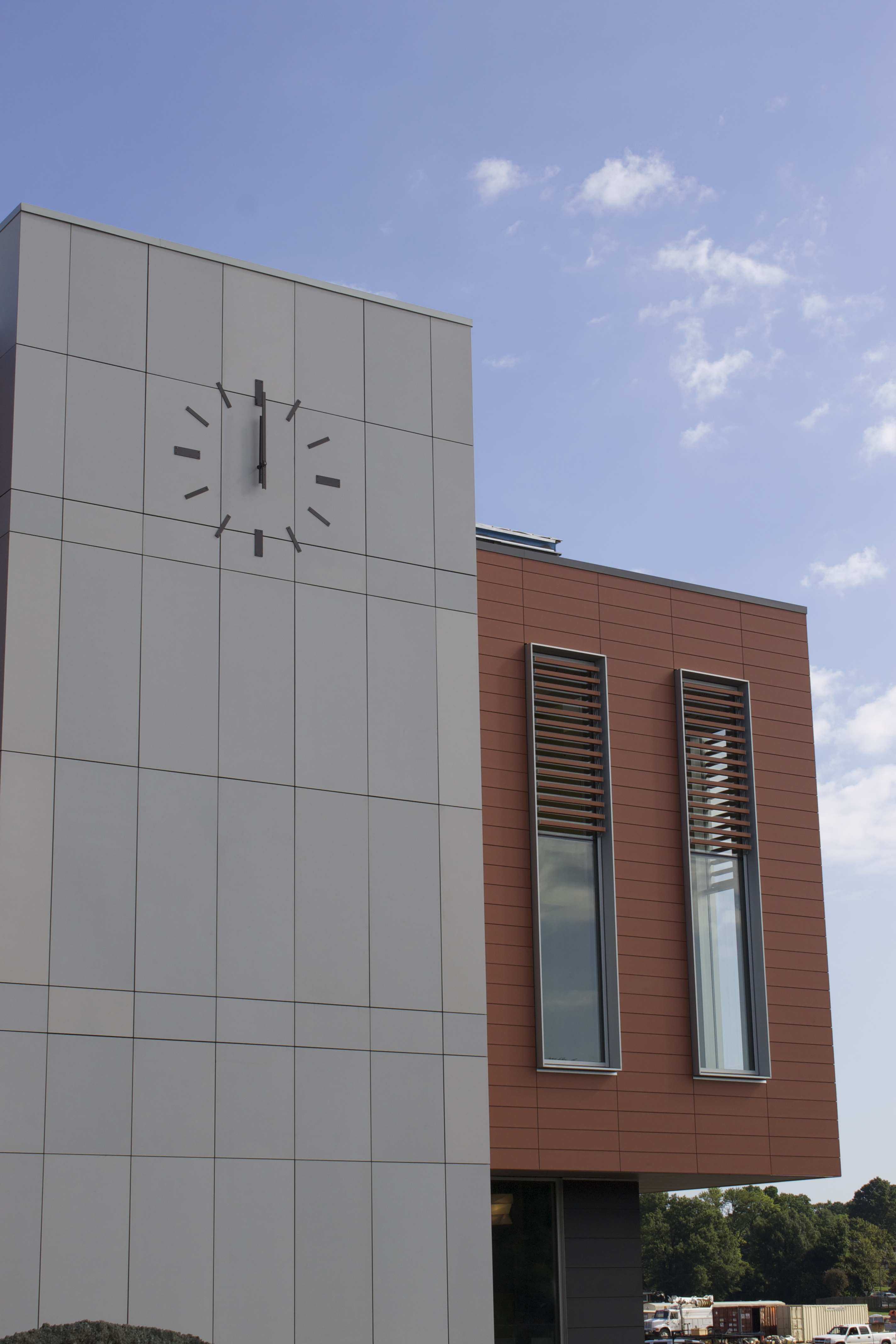 Cladding Corp - Libbie Mill Library - Swisspearl - Terracotta