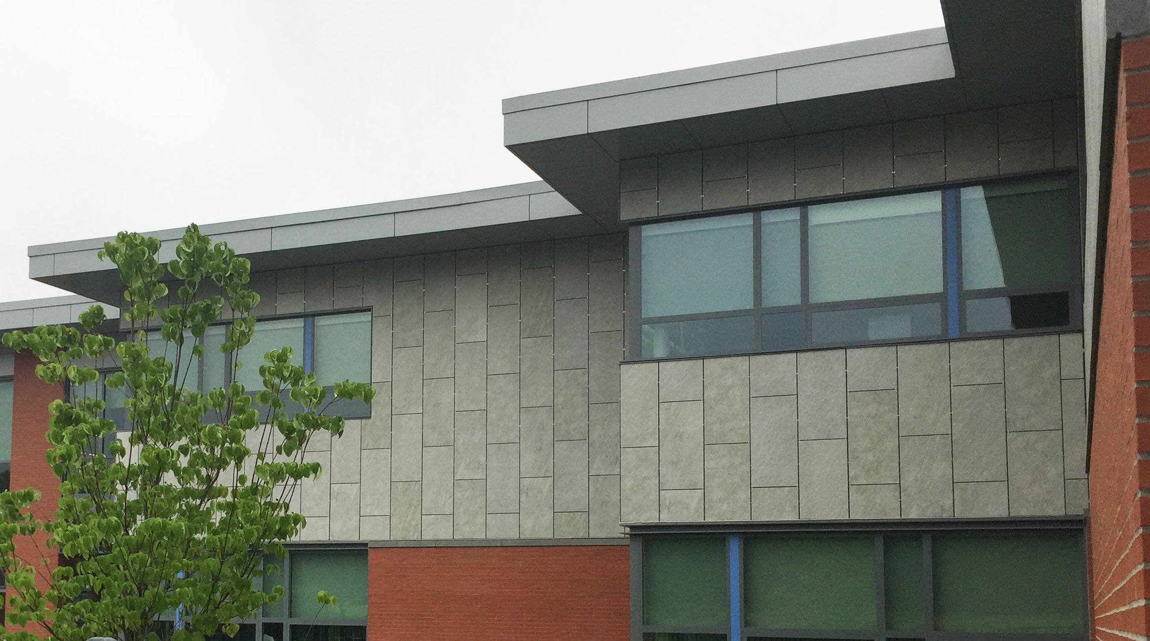 Cladding Corp North Middlesex Regional High School Ceramic5