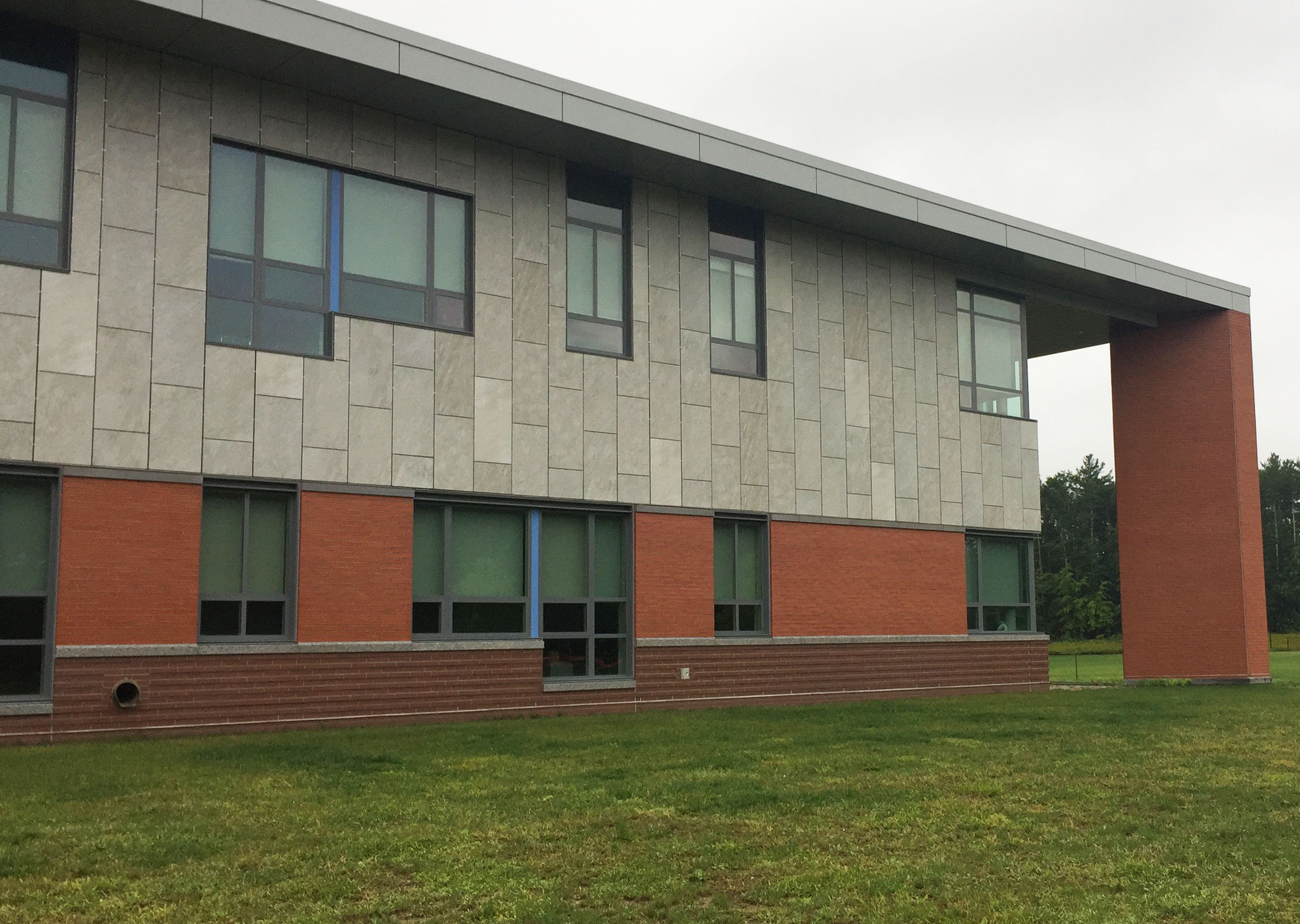 Cladding Corp North Middlesex Regional High School Ceramic5