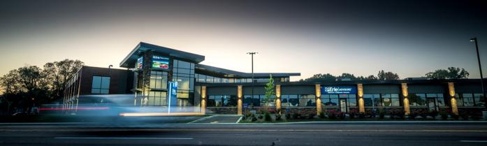 Cladding Corp Swisspearl Rainscreen Erie Federal Credit Union