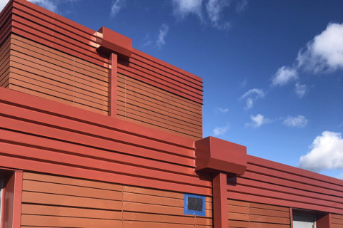 Cladding Corp Terra5 Terracotta Rainscreen & ECO Cladding Vci.22 Cladding System