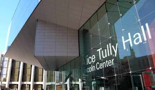Alice Tully Hall Lincoln Center – New York, NY