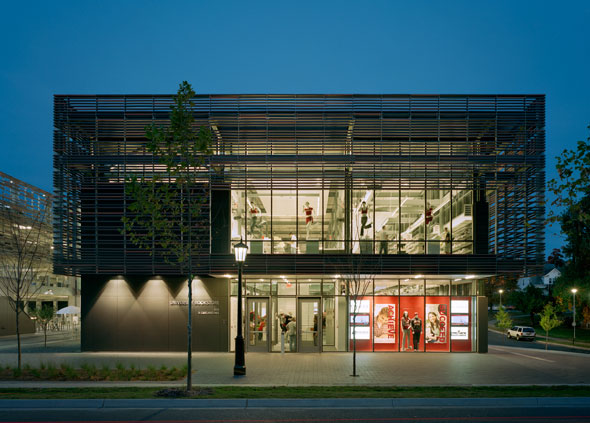 U of Arkansas Bookstore/Garage – Fayetteville, AR