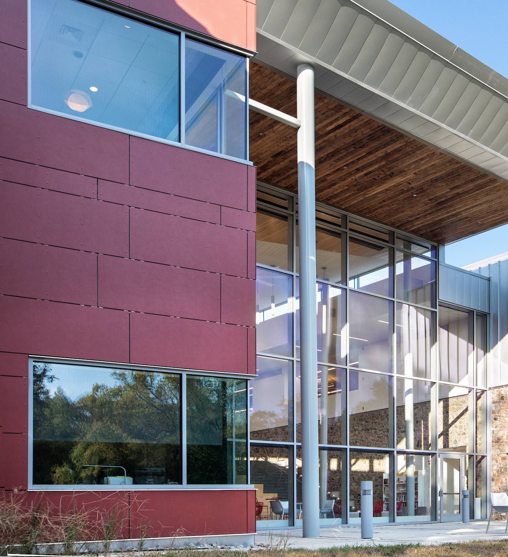 Cladding Corp Swisspearl VarinaArea Library Rainscreen - Richmond, VA