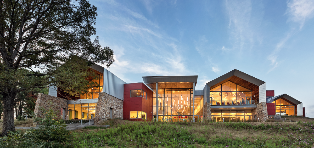 Varnia Area Library - Richmond, VA - Elevation -  Photo Credit: Chris Cunningham Photography