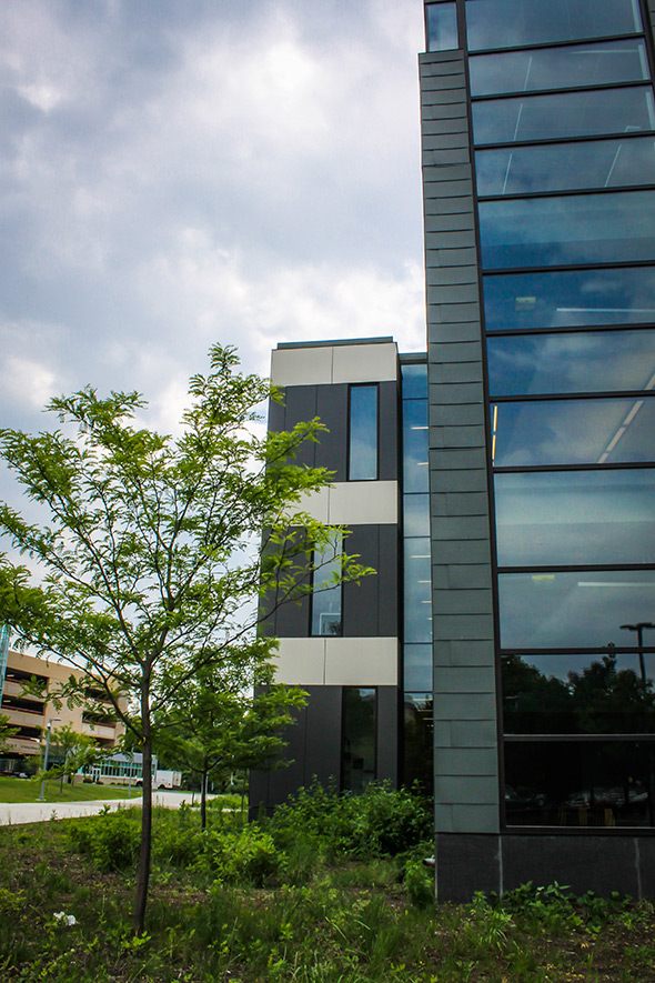Hudson Valley CC Science Center – Troy, NY with Cladding Corp