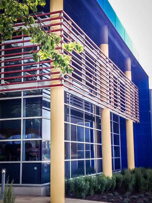 Side View of La Rabida Children's Hospital – Chicago, IL