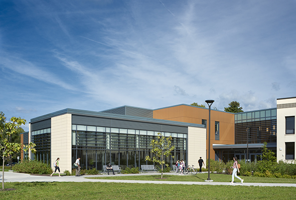 Mohawk Valley Community College - Rome, NY Terra5 and Swisspearl