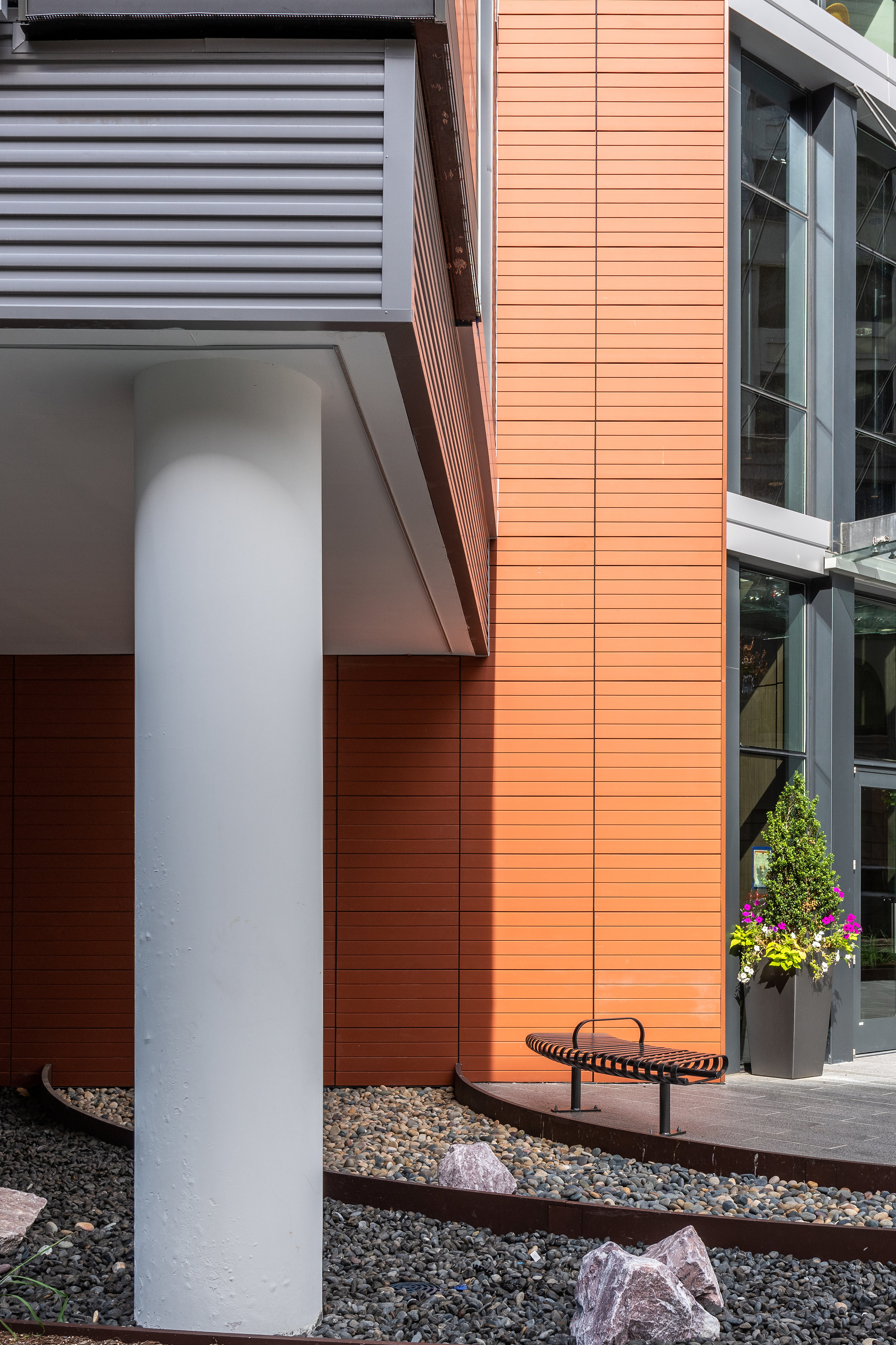 Terra5 TC18 Grooved Tiles MTFA Architecture Washington DC Rainscreen Cladding
