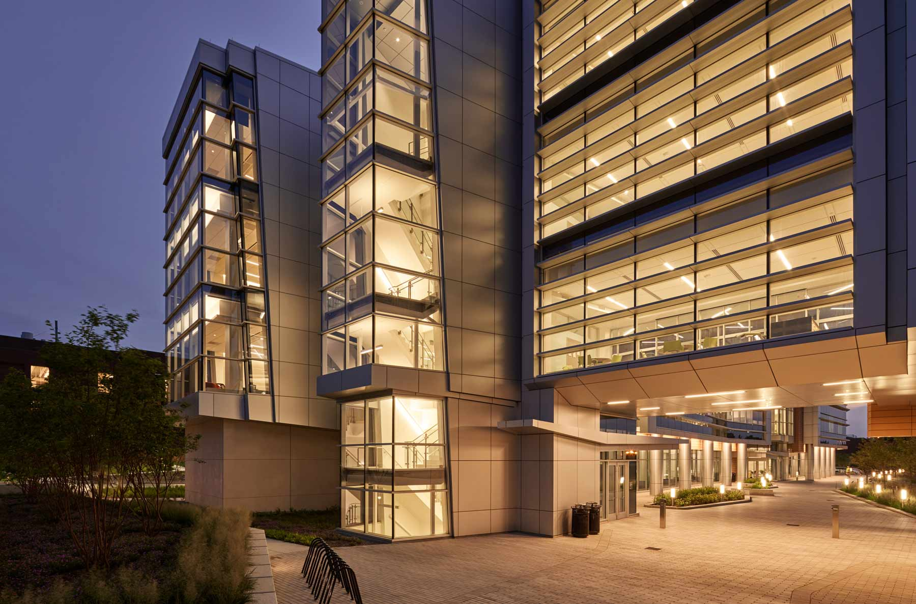 Cladding Corp Rutgers University Chemistry and Biology Laboratory Terra5 Swisspearl