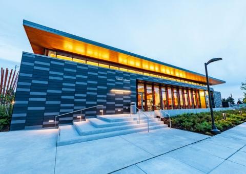 Cladding Corp Tukwila King County Library Terra5