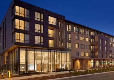 Cladding Corp - 28th and Canyon Embassy Suites - Boulder, Colorado - Ceramic5