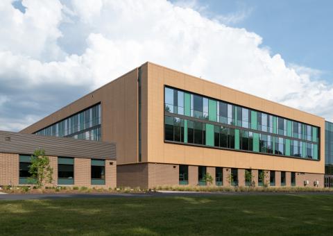 Cladding Corp Terra5 Academies of Loudoun Rainscreen