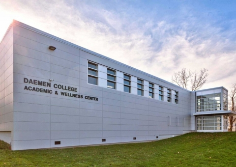 Cladding Corp Swisspearl Daemen College Amherst NY