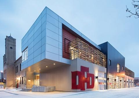 Cladding Corp - Davenport Central Fire Station - Terra5