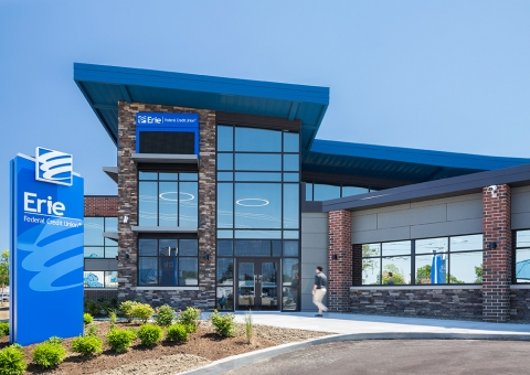 Cladding Corp Swisspearl Rainscreen Erie Federal Credit Union