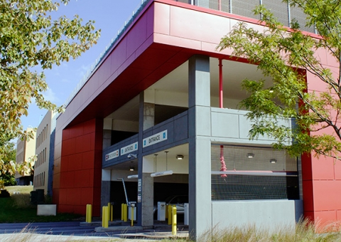 Bridgestone Training Center fiber cement panels by Cladding Corp