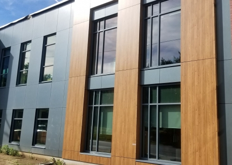 Cladding Corp Fiber Cement Swisspearl Reflex Rainscreen & ECO Cladding Hci.10 Cladding System