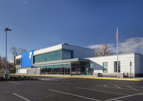 Cladding Corp - Petersburg YMCA - Swisspearl Fiber Cement Rainscreen