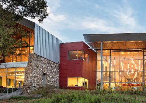 Cladding Corp Swisspearl Varina Area Library Rainscreen - Richmond, VA