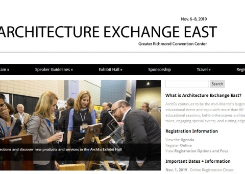 Architecture Exchange East 2019