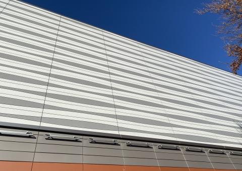 Cladding Corp Swisspearl Custom Fabrication GRAVIAL and CARAT Panels
