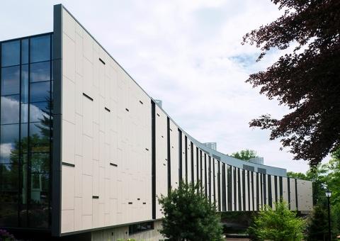 Vassar Integrated Science SwissPearl Cem5 Fibercement Rainscreen Cladding