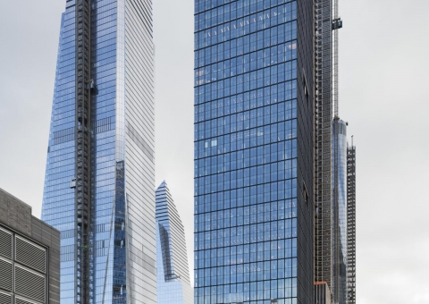 Cladding Corp - 55 Hudson Yards - Swisspearl Fiber Cement Rainscreen