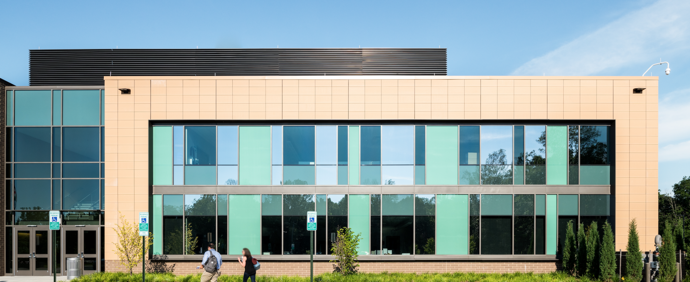 Academies of Loudoun Terra5 Terracotta Rainscreen Cladding ECO Cladding