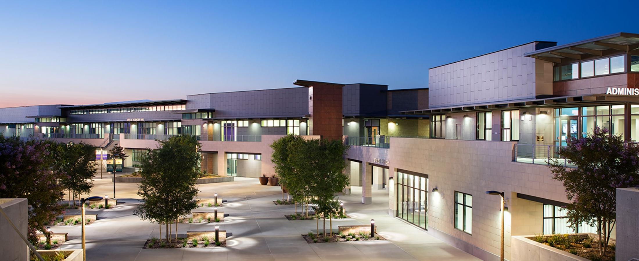 Cladding Corp Ceramic5 Del Lago Academy Rainscreen Installation