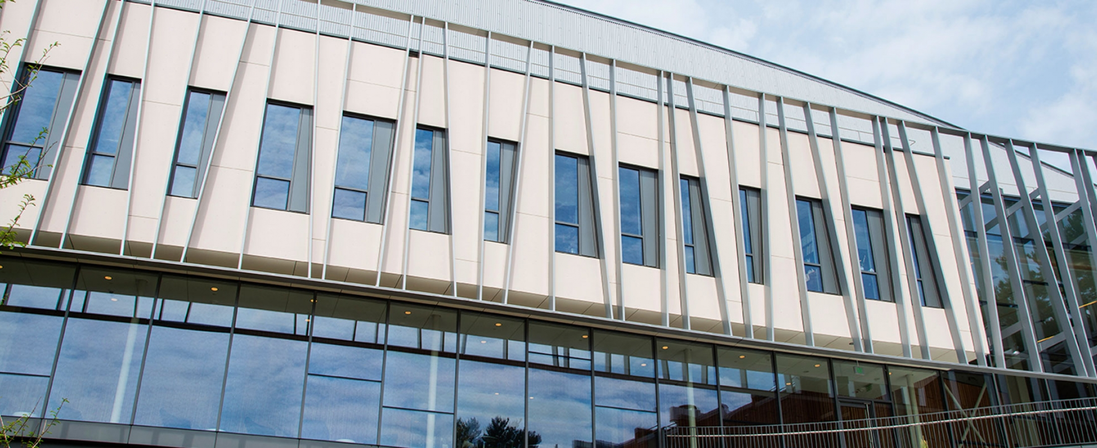 Cladding Corp Vassar Integrated Science SWISSPEARL Fiber Cement Rainscreen