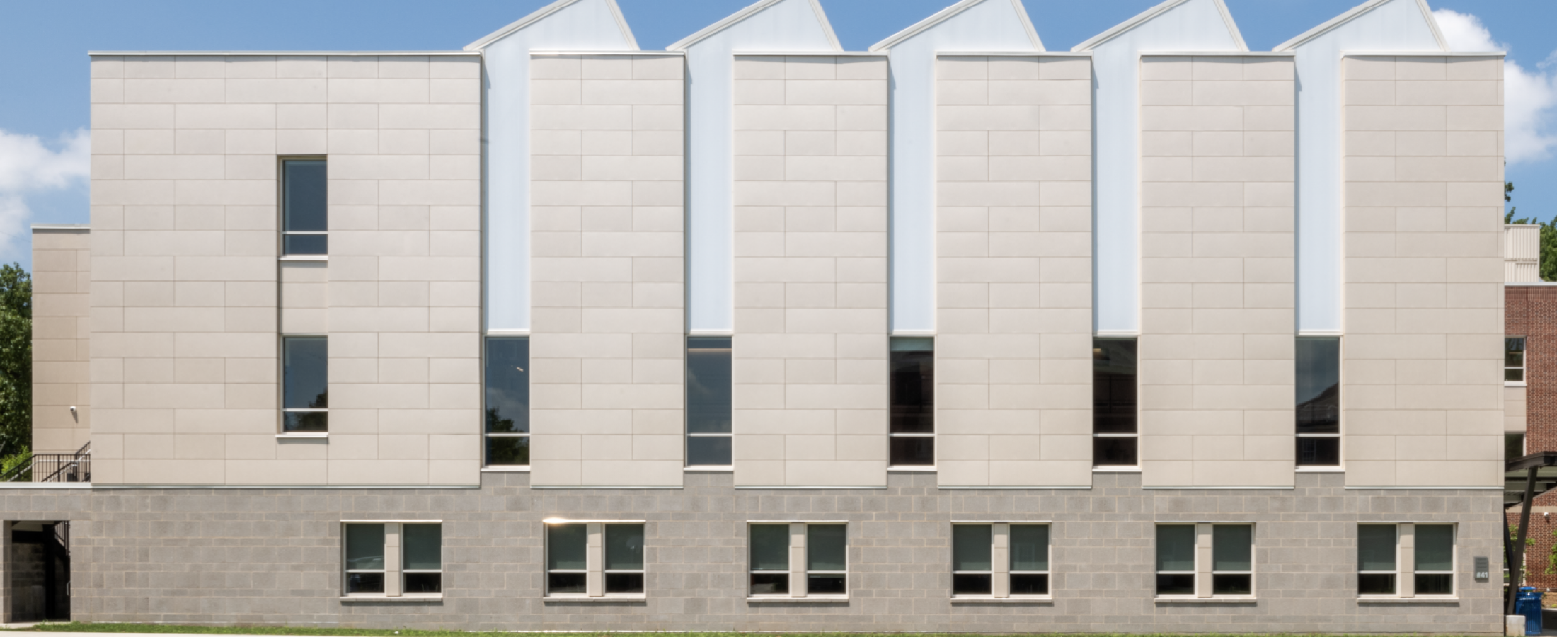 CCORP Swisspearl Fibercement Rainscreen Cladding DC International School