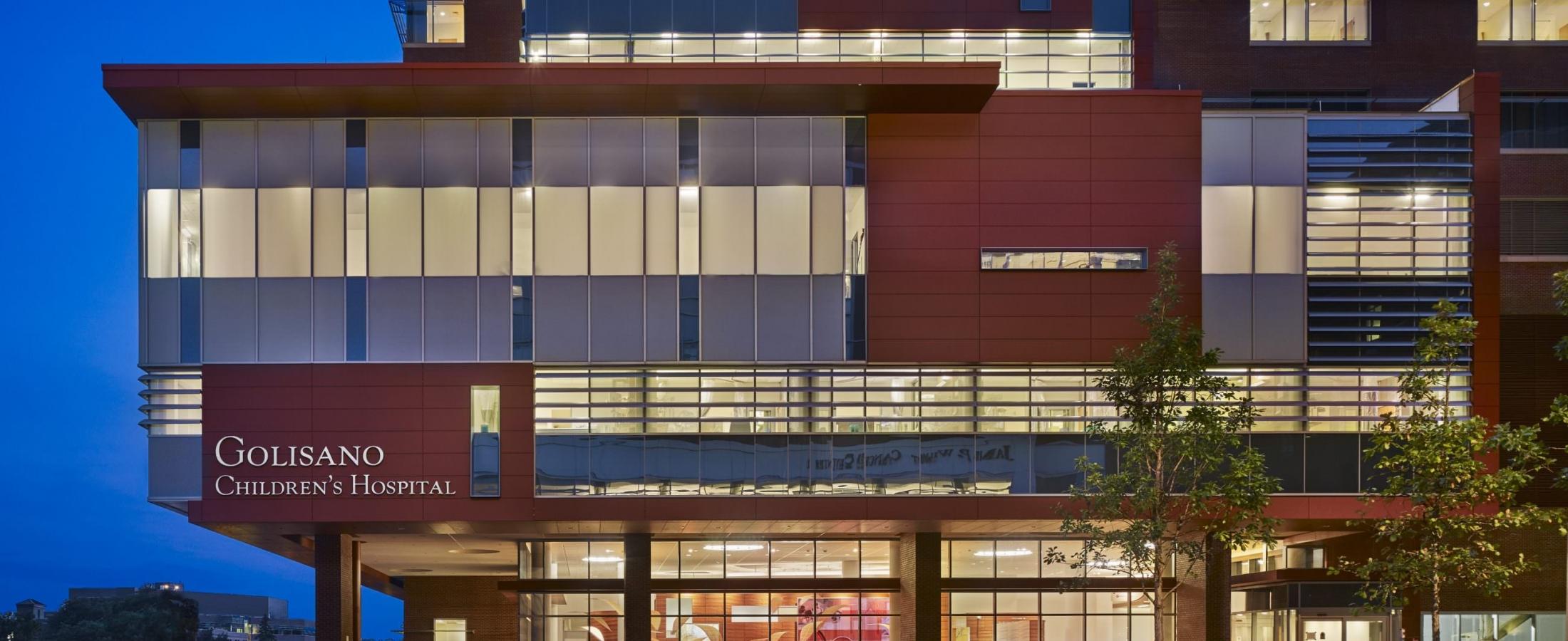 Cladding Corp Golisano Children's Hospital Swisspearl Fiber Cement Rainscreen Facade