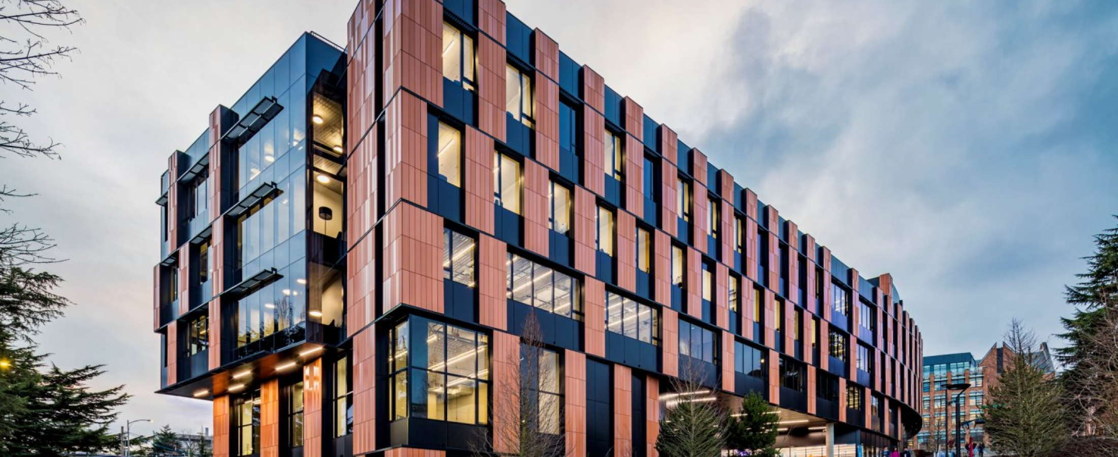 U of Washington Gates Center Terra5 Terracotta Rainscreen Cladding LMN Architects
