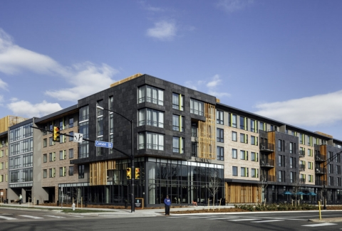 Ceramic Rainscreen Cladding Facade Boulder Colorado Embassy Suites