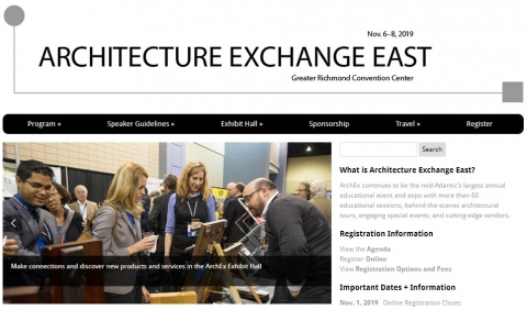Architecture Exchange East 2019