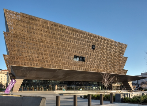 ECO Cladding Subframing System Smithsonian NMAAHC